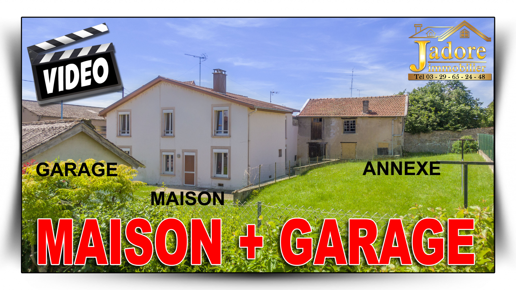 maison/villa à vendre charmes