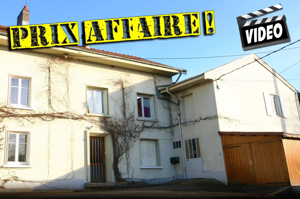 maison/villa à vendre luneville
